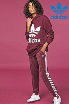 adidas Originals Maroon Cuff Track Pant