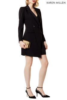 Karen Millen Black Blazer Dress