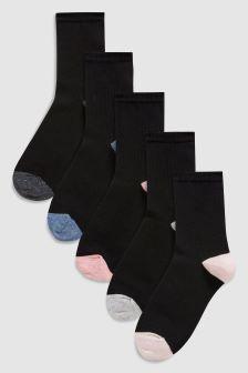Neppy Sparkle Ankle Socks Five Pack