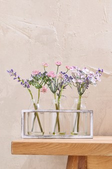 Floral Bottle Caddy