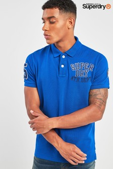 Superdry Superstate Appliqué Pique Polo