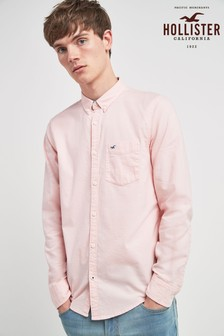 Hollister Oxford Long Sleeve Shirt