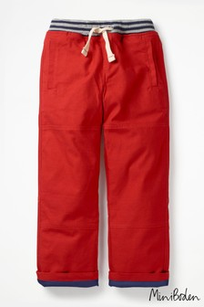 Boden Red Lined Mariner Trousers