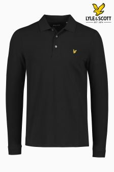 Lyle & Scott Langärmeliges Poloshirt