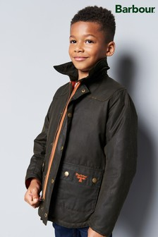 Barbour® Olive Stybarrow Wax Jacket
