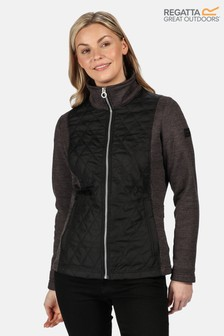 Regatta Black Zuzela Full Zip Fleece Jacket