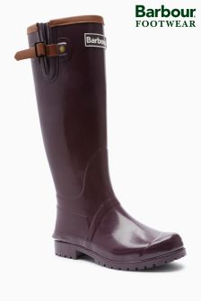 Barbour® Blyth Welly With Leather Detail