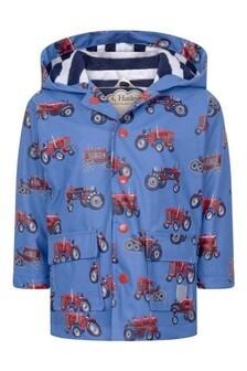 Boys Blue Rain Jacket