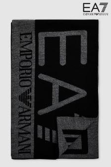 Emporio Armani EA7 Black Visibility Scarf