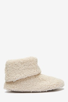 Borg Slipper Boots