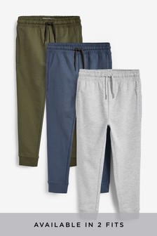 3 Pack Joggers (3-16yrs)