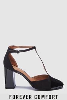 T-Bar Block Heels