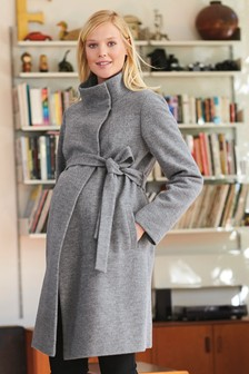 Maternity Belted Coat