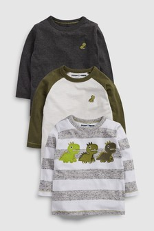 Dinosaur T-Shirts Three Pack (3mths-6yrs)