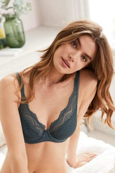 Georgie High Apex Supersoft Non Padded Full Cup Bra