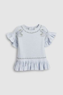 Peplum Stripe Blouse (3-16yrs)