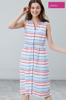 Joules White Lisia Linen Dress