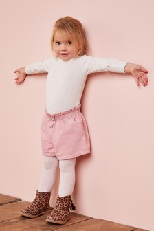 Cord Shorts And Tights Set (3mths-6yrs)