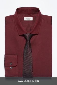Cotton Tonic Shirt And Tie Set