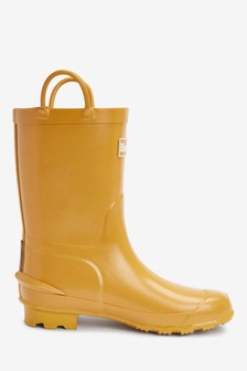 Barbour Yellow Durham Wellies