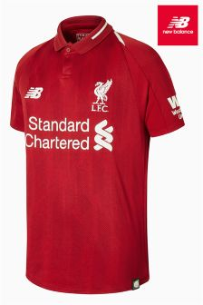 New Balance Liverpool FC 2018/19 Kids Jersey Top