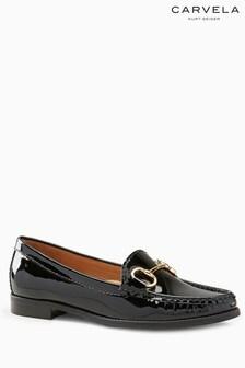 Carvela Comfort Black Patent Click Loafer
