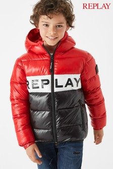 Replay® Kids Red Colourblock Jacket