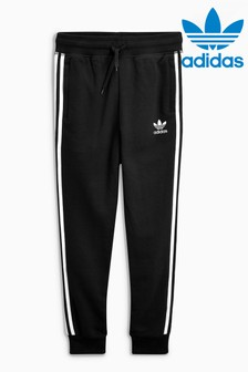 adidas Originals Black Trefoil Joggers