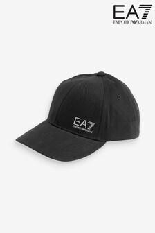 Emporio Armani EA7 Black Logo Cap