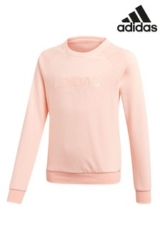 adidas Pink Sweat Top
