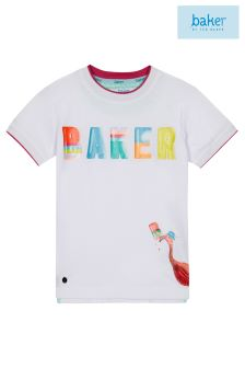 baker by Ted Baker Ice Lolly Tee With Logo