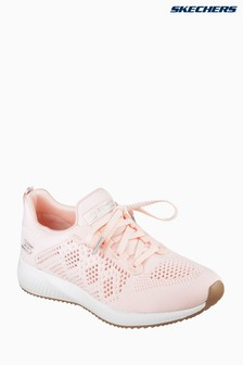 Skechers® Pink Bobs Squad Ring Master Open Weave Engineer