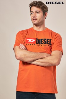 Diesel® Just Division Logo T-Shirt