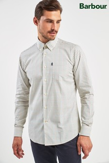 Barbour® White Stapleton Charles Tattersall Shirt