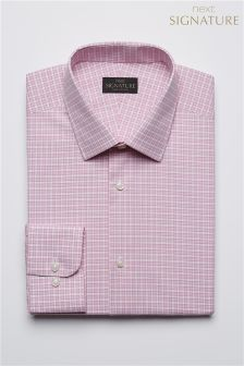 Check Signature Non-Iron Shirt