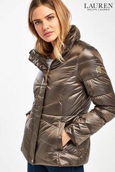 Lauren Ralph Lauren® Bronze Luxe Packaway Padded Jacket