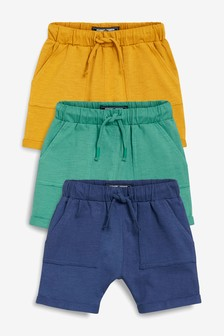 Lightweight Shorts Three Pack (3mths-7yrs)