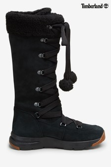 Čierne vysoké čižmy Timberland® Mabel Town Mukluk