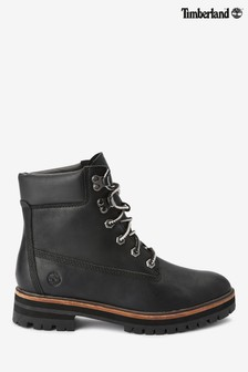 Timberland® Black London Square 6 Inch Boots