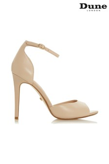 Dune London Nude True-Nude-Leather Shoe