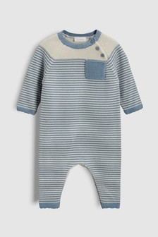 Stripe Knitted Romper (0mths-2yrs)