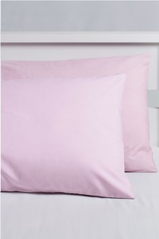 Micro-Fresh Plain Dye Pillowcases