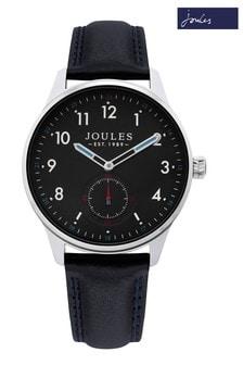 Joules Black Strap Watch