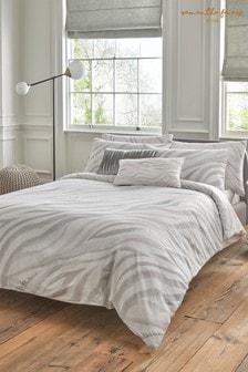 Sam Faiers Maya Silver Duvet Cover and Pillowcase Set