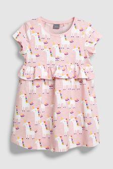 Unicorn Print Dress (3mths-6yrs)