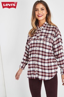 Levi's® Red Check Western Shirt