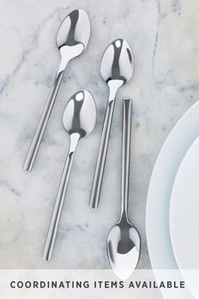 Set of 4 Tea Spoons