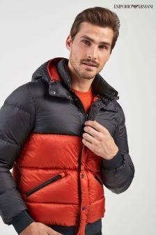 Emporio Armani Colourblock Padded Jacket