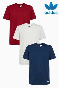 adidas Action Sport Skateboarding T-Shirt Three Pack