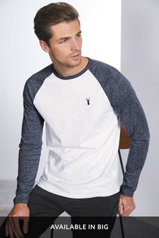 4a04273d Mens Long Sleeve T Shirts | Mens Long Sleeve Tops | Next UK